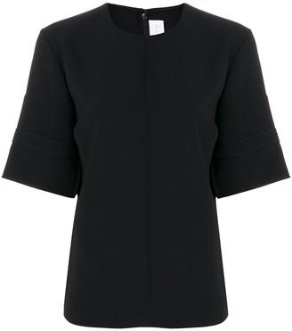 Victoria Victoria Beckham Wide Short Sleeve Blouse