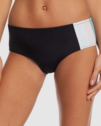 Roxy Womens Fitness Shorty Separate Bikini Pants