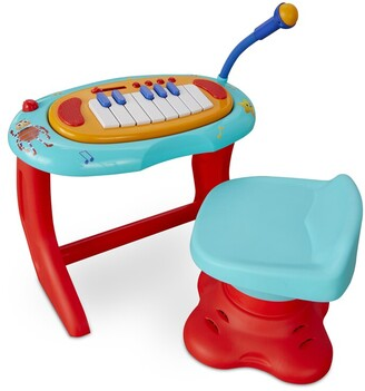 Little Tikes Little Baby Bum Sing-Along Piano Musical Station Keyboard with Working Microphone