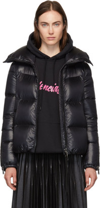 Moncler Black Down Bandama Jacket