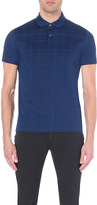 HUGO BOSS Regular-fit mercerised cotton-piqué polo shirt