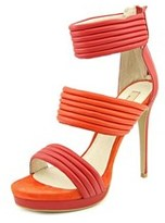 MLE Kiara Open Toe Leather Sandals.