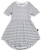 Huxbaby Toddler's & Little Girl's Swirl Cotton Hi-Lo Dress