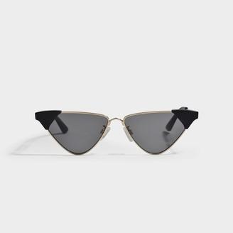 McQ Gold Square Sunglasses In Metal