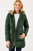 J. Jill Highland Park Long Down Puffer Jacket