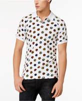 Love Moschino Men's Graphic-Print Polo Shirt