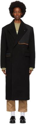 Ader Error Black Ladon Coat