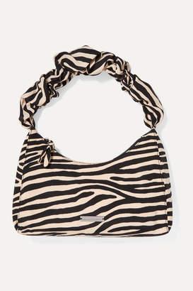 Loeffler Randall Aurora Zebra-print Cotton-blend Moire Tote - Zebra print