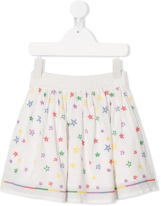 Stella McCartney Kids Star Print Skirt
