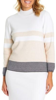 Marc O'Polo Marco Polo Long Sleeve Colour Block Sweater
