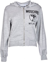 Moschino Cropped Logo Hoodie