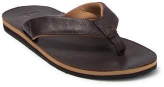 Sanuk John Doe 2 Leather Flip-Flop Sandal
