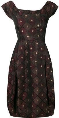 A.N.G.E.L.O. Vintage Cult 1950's Patterned Dress