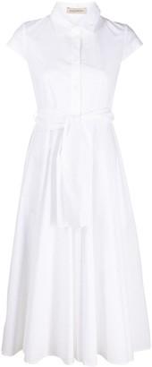 Gentry Portofino Belted Mid-Length Shirtdress