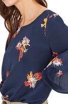 Madewell Women's Pandolly Silk Ruffle Sleeve Top