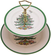 One Kings Lane Vintage Spode Tiered Cookie Plate