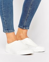 New Look Wide Band Slip On Sneaker