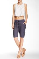 Allen Allen Linen Bermuda Trouser Short (Petite)