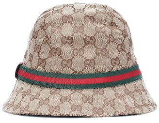 Gucci Kids GG canvas bucket hat