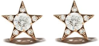 Selim Mouzannar 18kt rose gold diamond Star earrings