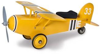 Pottery Barn Kids Yellow Airplane Ride-On