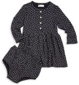 Ralph Lauren Baby's Two-Piece Button-Front Dress & Bloomers Set