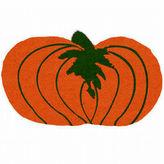 Asstd National Brand Pumpkin Shape Doormat - 18X30