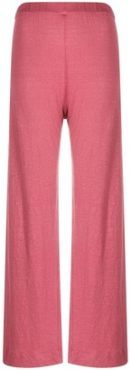Majestic Filatures High-Waisted Trousers