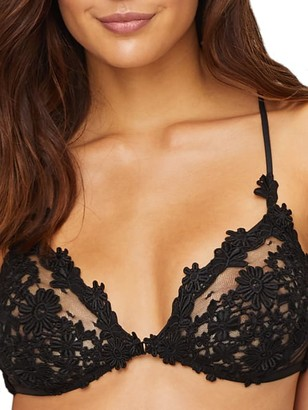 Flora Nikrooz Showstopper Charmeuse Bralette