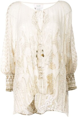 Camilla The Queens Chamber blouse