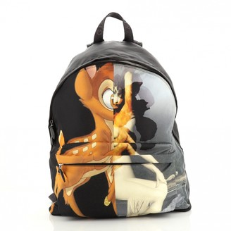 Givenchy Black Leather Backpacks