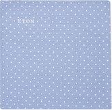 Eton Cotton-silk Polka Dot Pocket Square