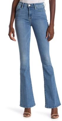 Frame Le High Flare Leg Jeans