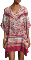 Gottex Shiraz Beach Dress Cover-up, Multipattern