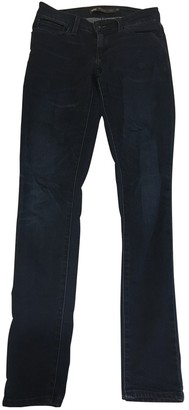 Levi's Navy Cotton - elasthane Jeans for Women