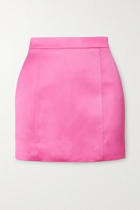 GAUGE81 Tuscany Satin Mini Skirt - Fuchsia