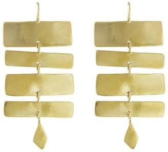 ARIANA BOUSSARD-REIFEL Antilles Short Brass Drop Earrings