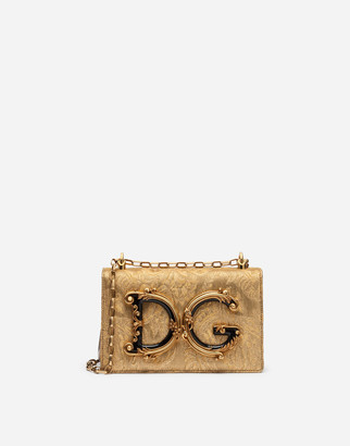 Dolce & Gabbana Brocade Girl Bag
