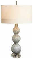 Global Views Cloud Light Gray Art Glass Table Lamp