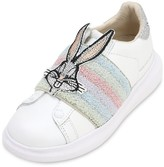 Bugs Bunny Leather Slip-On Sneakers