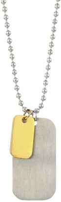 Saks Fifth Avenue COLLECTION ID Tag Necklace