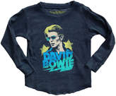 Rowdy Sprout David Bowie Burnout Thermal Tee