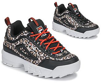 Fila DISRUPTOR ANIMAL WMN women's Shoes (Trainers) in Black