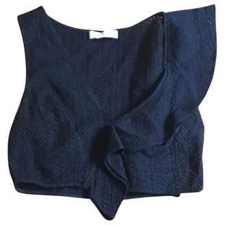 Marysia Swim Black Cotton Top for Women