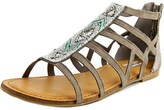 Not Rated Crystalyn Open Toe Synthetic Gladiator Sandal.