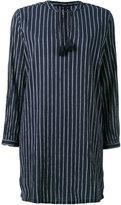 Woolrich striped shirt dress - women - Cotton - M