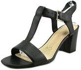 Clarks Women's Smart Deva T-Strap Dress Sandal Black