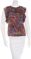 3.1 Phillip Lim Silk Printed Top