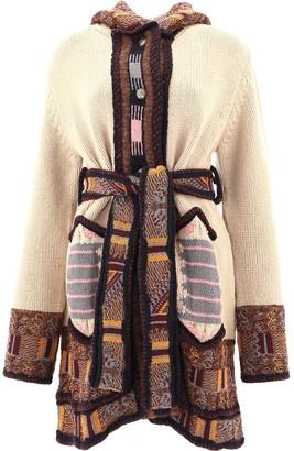 Etro Geometric Pattern Knitted Coat