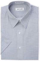 Pierre Cardin Geometric Print Regular Fit Short Sleeve Shirt